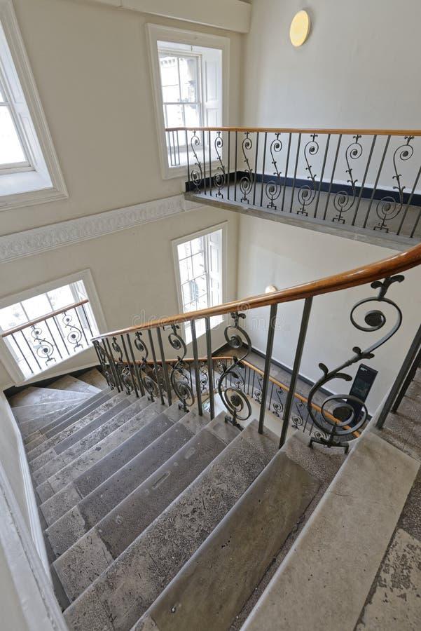 Les escaliers de timbre photos stock