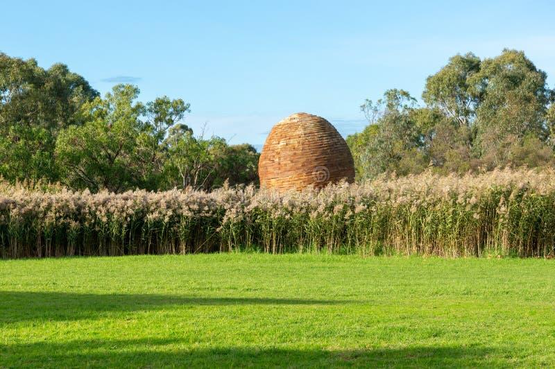 Les espaces verts de Darebin dans Alphington, Melbourne, Australie photographie stock libre de droits