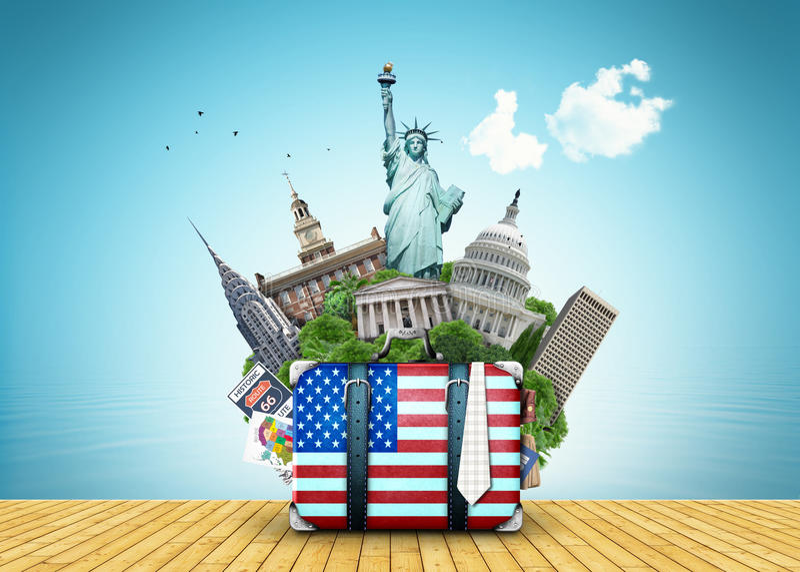 LES Etats-Unis illustration stock