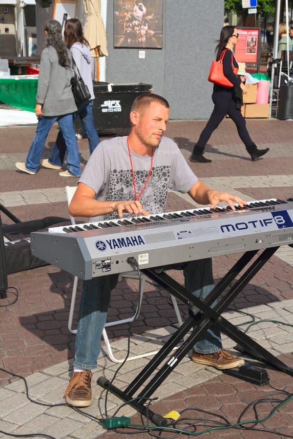 Les Etats-Unis, AZ/Tempe : Pianiste classique Eliah Bossenbroek photo libre de droits