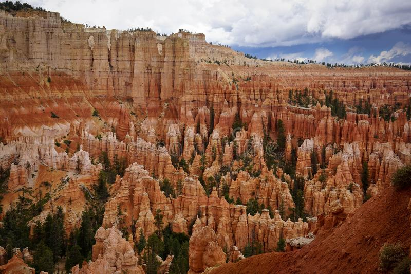 Les Etats-Unis Bryce Canyon Utah photos libres de droits