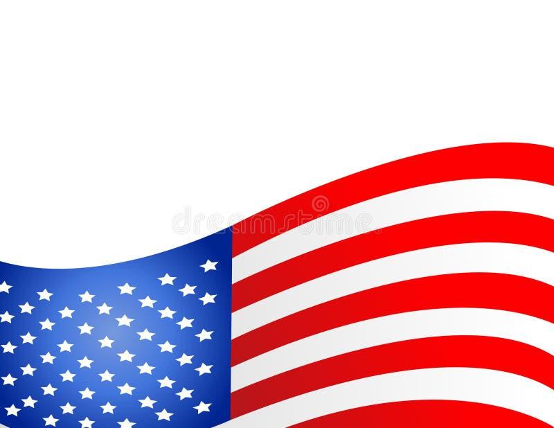 Les Etats-Unis diminuent dans le vecteur de type illustration libre de droits