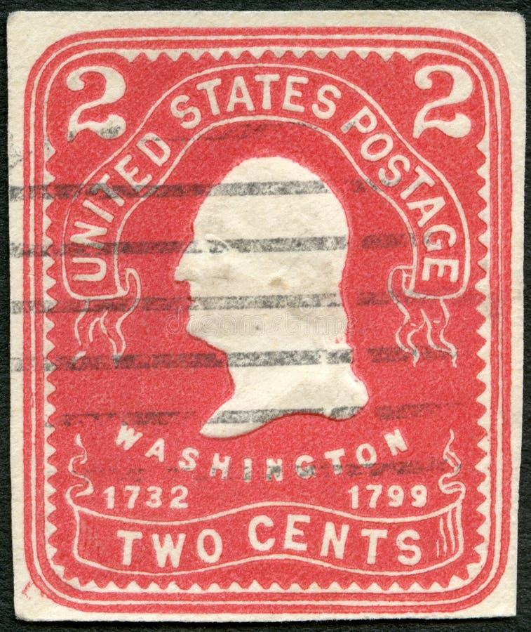 Les ETATS-UNIS - 1903 : le Président George Washington d'expositions images libres de droits
