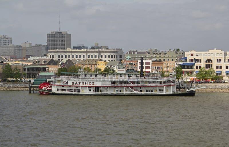 Les Etats-Unis, Louisiane, la Nouvelle-Orléans - le fleuve Mississippi images stock