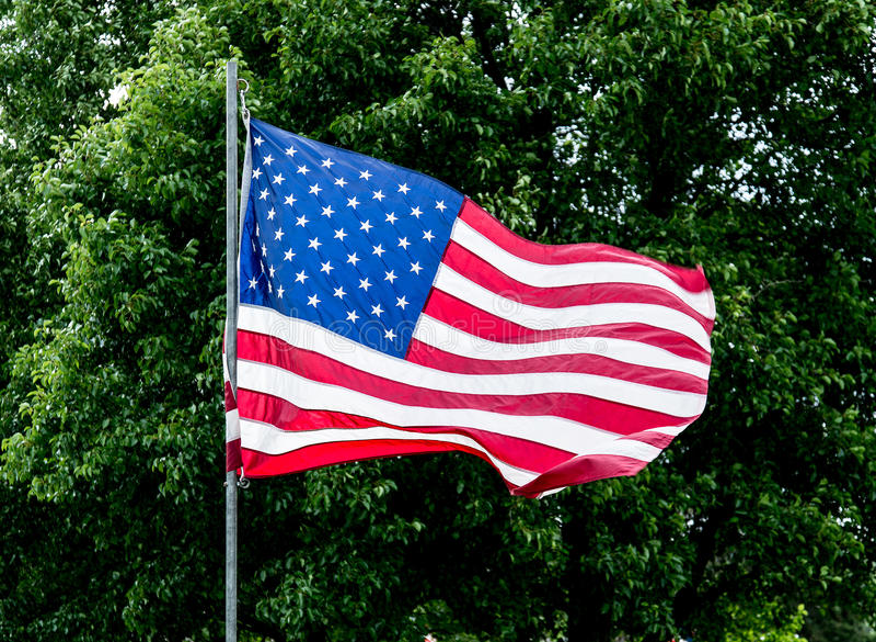 Les Etats-Unis marquent - les Etats-Unis images libres de droits