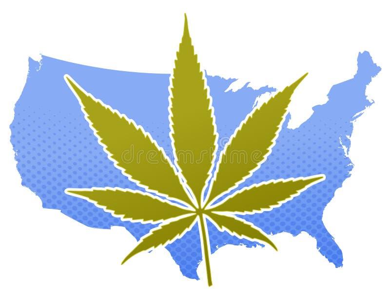 Les Etats-Unis MaryJ illustration de vecteur