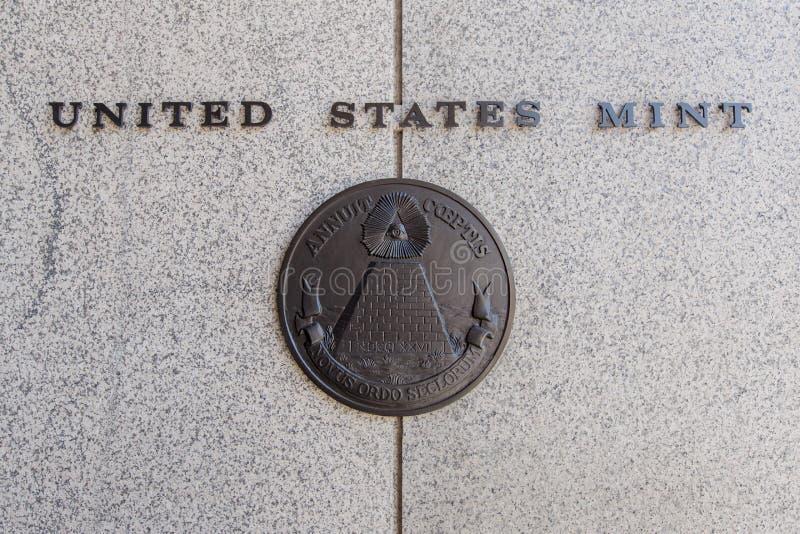 Les Etats-Unis Mint photos libres de droits