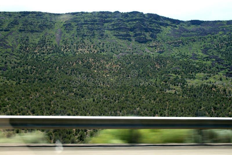 LES Etats-Unis Montagnes vertes Utah photos libres de droits