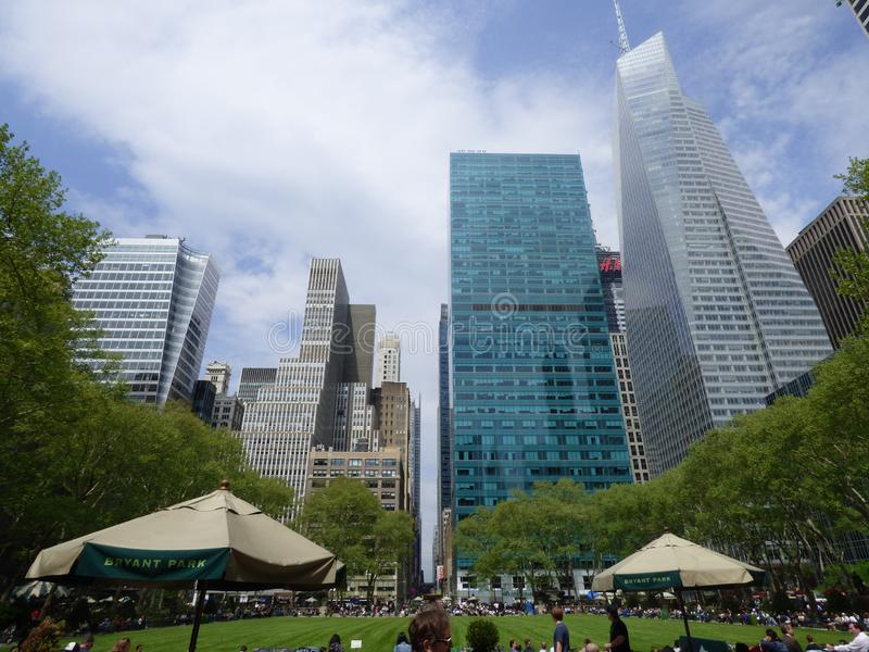 LES Etats-Unis New York Bryant Park photo stock