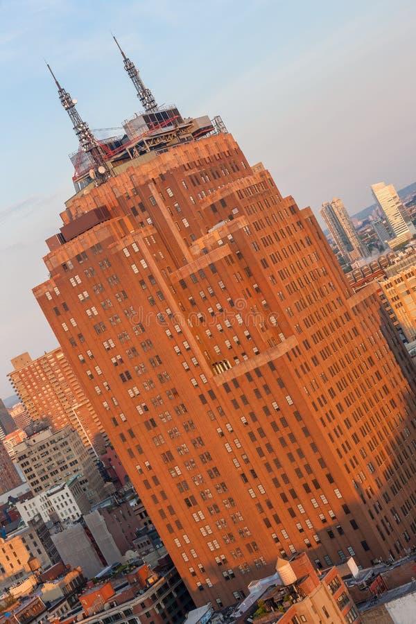 Les Etats-Unis, NEW YORK CITY - 27 avril 2012 le fond  photo libre de droits