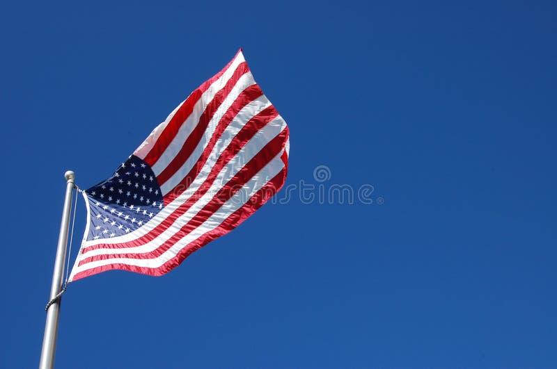 Les Etats-Unis nous marquent ondulent images libres de droits
