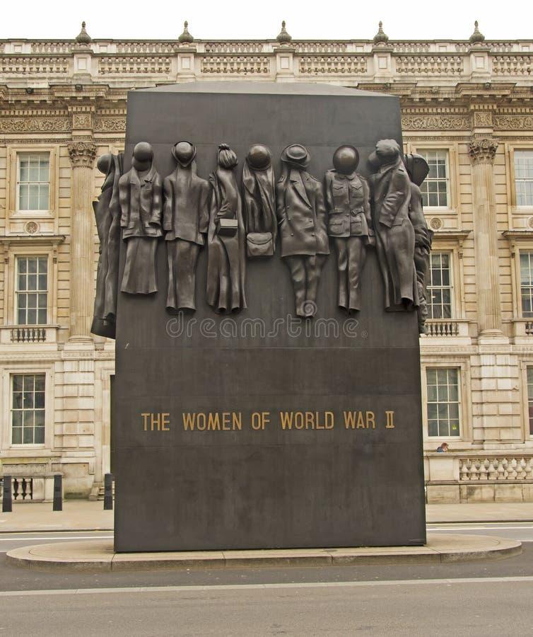 Les femmes de la deuxième guerre mondiale image libre de droits