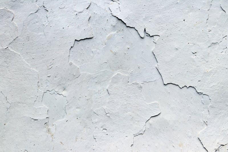 Les fissures fines dans la texture plâtre - grunge photos stock
