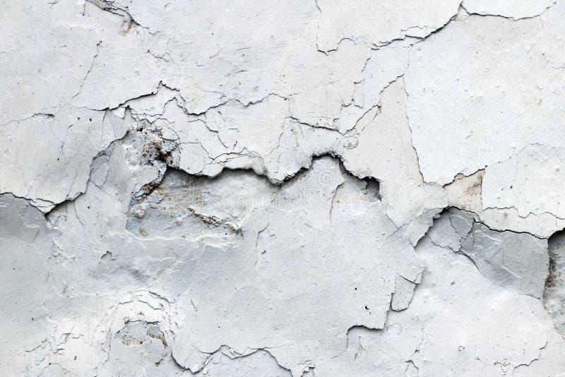 Les fissures fines dans la texture plâtre - grunge images stock