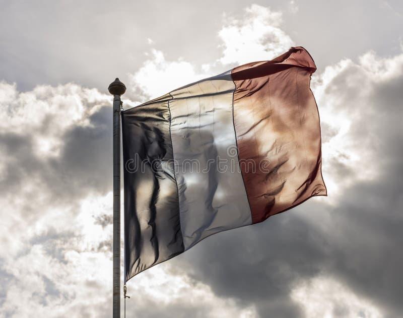 Les Frances diminuent et Sun photo libre de droits