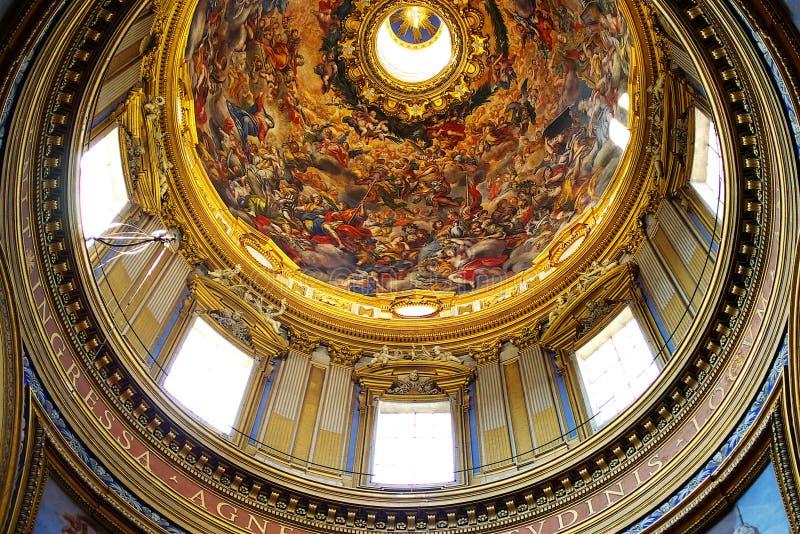 Les fresques des musées de Vatican image libre de droits