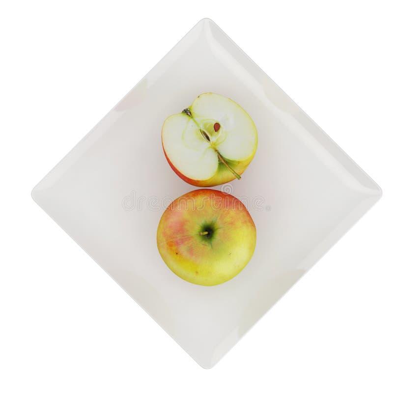 Les fruits isométriques 3D rend photo stock