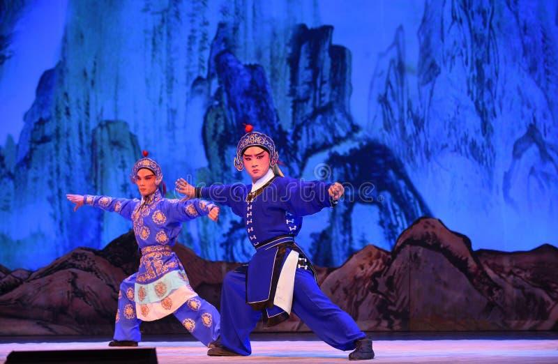 """Les généraux de femmes de Pékin Opera"""" d'orienteur du  de € de Yang Familyâ photo libre de droits"""