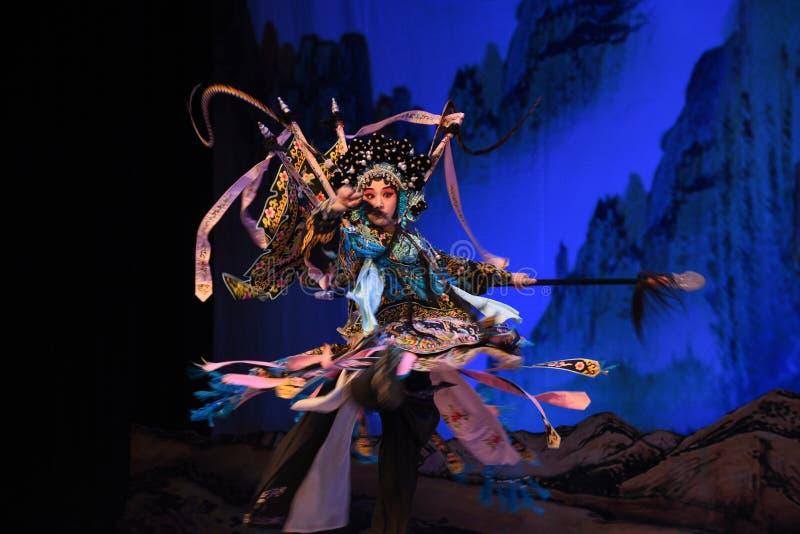 """Les généraux de femmes du Général Yang Qiniang- Pékin Opera"""" du  de € de Yang Familyâ photo stock"""