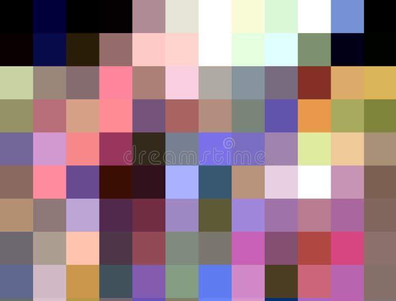 Les géométries, fond de scintillement vif de places, couleurs, les géométries, fond lumineux, les géométries colorées illustration libre de droits