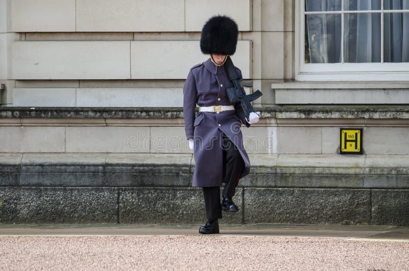 Gardes royales de Londres image libre de droits
