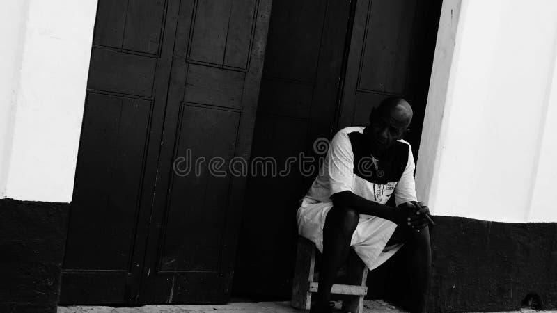 Les gens à La Havane photos stock