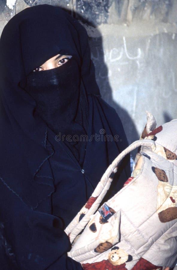 les gens 1996-Yemen images libres de droits
