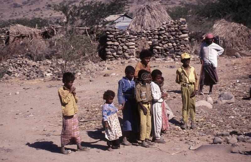 les gens 1996-Yemen image libre de droits