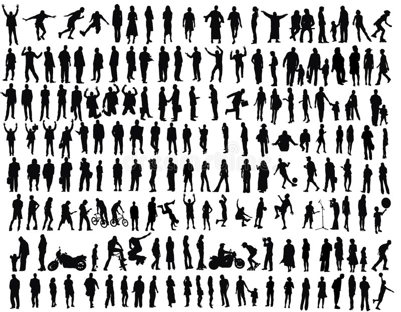 Les gens illustration de vecteur