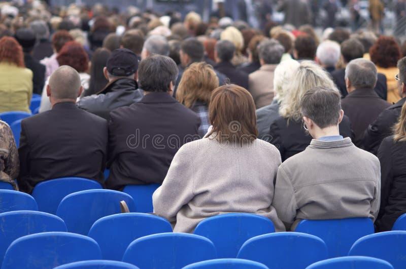 Download Les gens image stock. Image du mass, ouvert, conférence - 740755