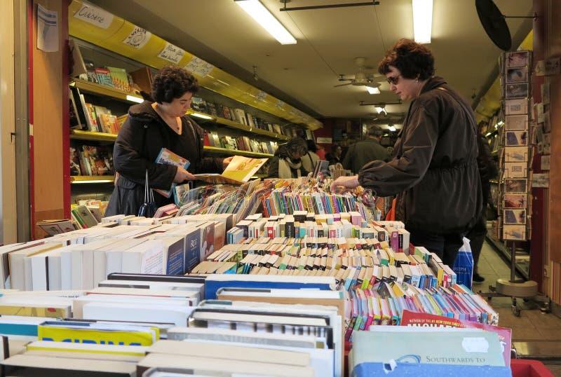 Vieille librairie photo stock