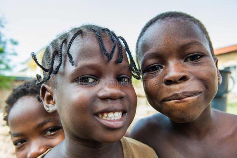 Les gens au GHANA photo libre de droits