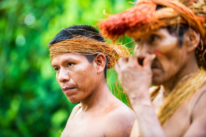 Les gens au Pérou photo stock