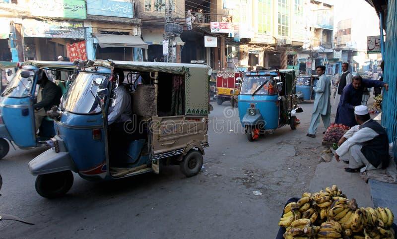 Les gens au Pakistan - une vie quotidienne photographie stock