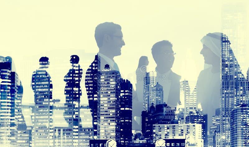 Les gens d'affaires d'accord d'affaire Partners le concept de collaboration photo libre de droits