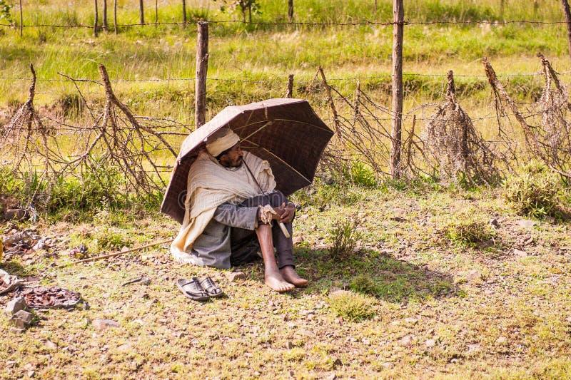 Les gens en Ethiopie photographie stock libre de droits