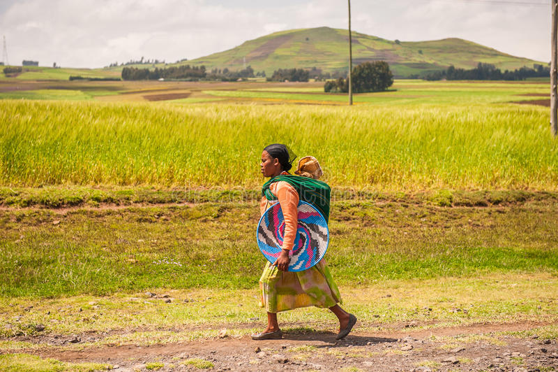Les gens en Ethiopie photo stock