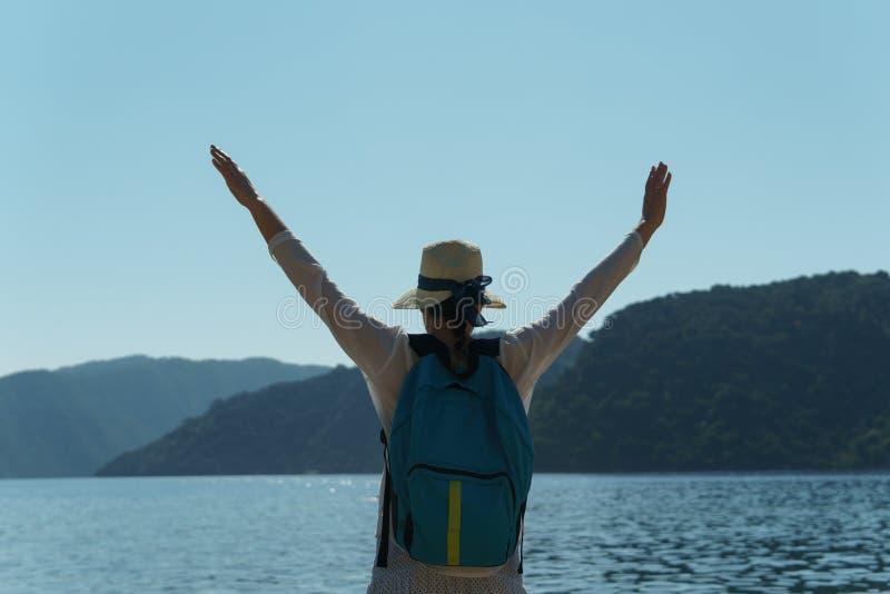 Les gens en vacances dans les pays chauds photographie stock