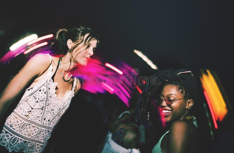 Les gens Live Music Concert Festival images libres de droits