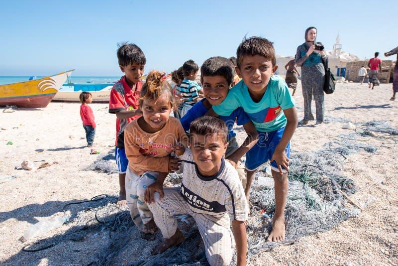Les gens sur Sokotra, Yémen photos stock
