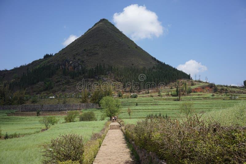 Les gisements de montagne image stock