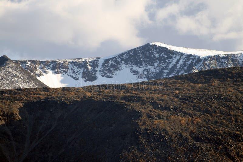 Les glaciers d'Altai images libres de droits
