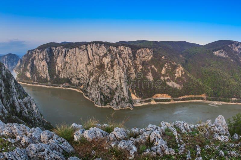 Les gorges de Danube images stock