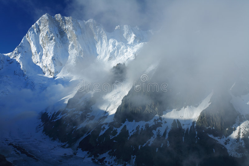 Download Les Grandes Jorasses Stock Photos - Image: 3178423