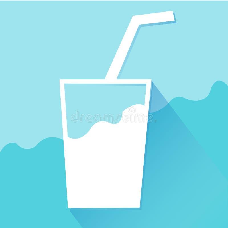 Les icônes de l'eau de boissons ont placé grand pour n'importe quel usage Vecteur eps10 illustration libre de droits