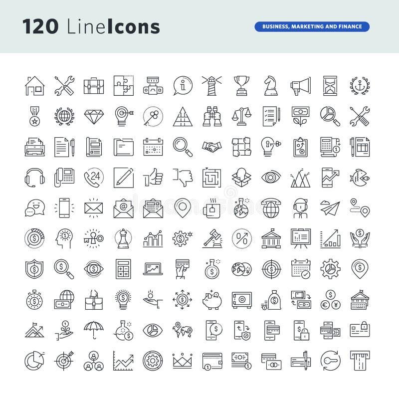 Les icônes de la meilleure qualité de concept ont placé pour des affaires, le marketing et des finances illustration de vecteur