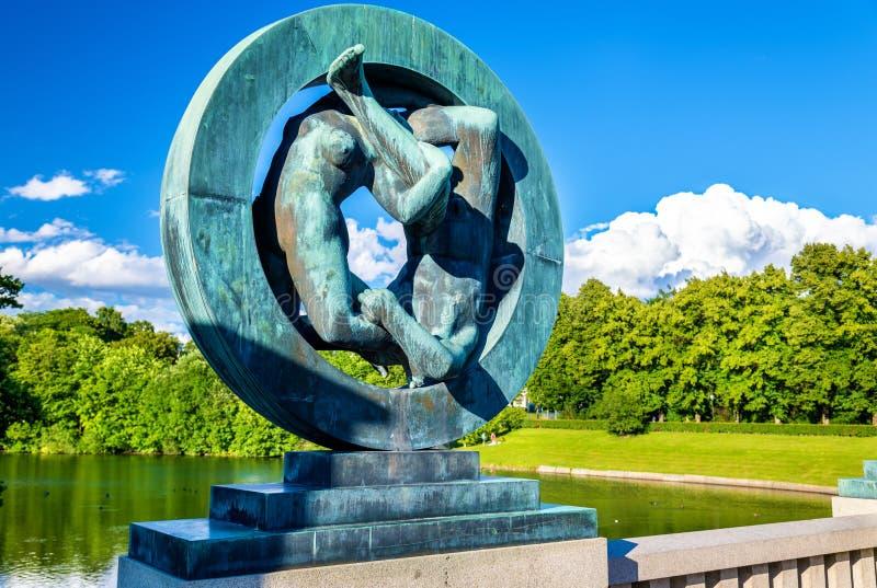 Download Les Installations De Sculpture En Vigeland Dans Frogner Garent - Oslo Photo stock éditorial - Image du granit, architecture: 77150468