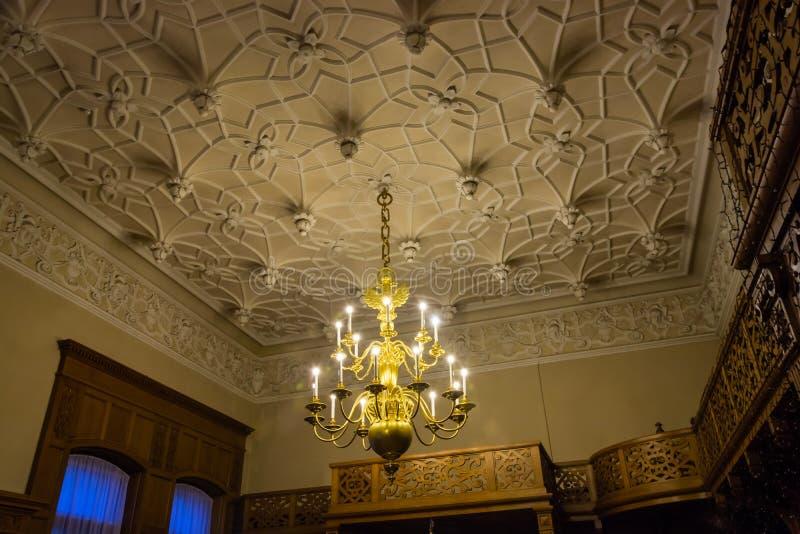 Les intérieurs du palais de Yusupov à St Petersburg, Russie photo libre de droits