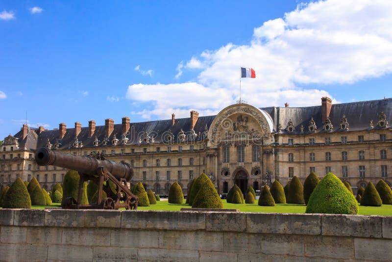 Les Invalides (η εθνική κατοικία του Invalids) στο Παρίσι, στοκ εικόνα