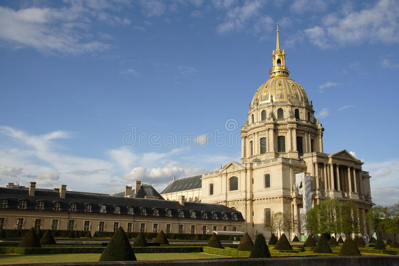 Download Les Invalides stock image. Image of tourist, champs, light - 14857959